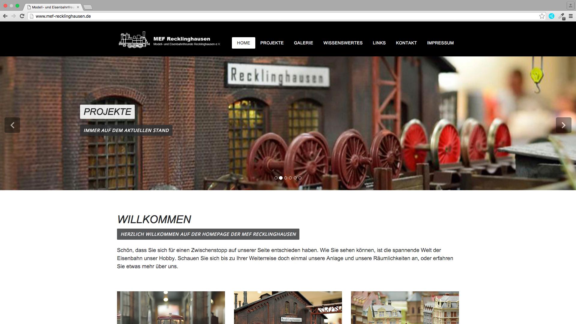 Modell- und Eisenbahnfreunde Recklinghausen e.V.